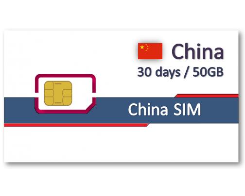 中港澳上網卡30天10GB/20GB/50GB - 免翻牆