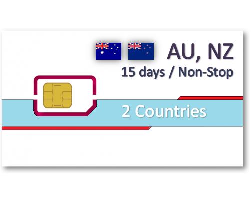 紐澳上網卡15天吃到飽 - 帶號碼