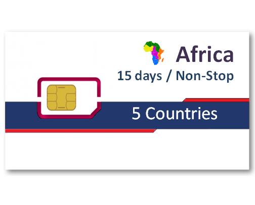 非洲6國上網卡15天吃到飽