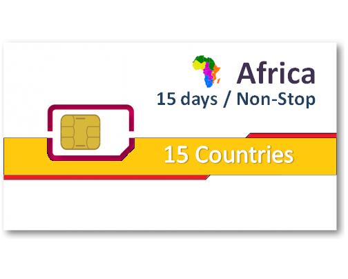 非洲上網卡15國15天吃到飽