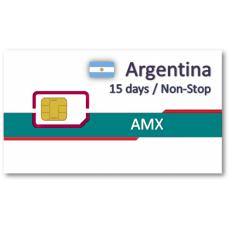阿根廷上網卡15天吃到飽