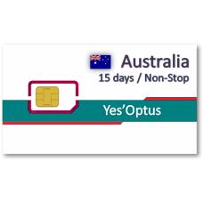 澳洲上網卡15天吃到飽 - 帶號碼