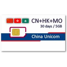 中港澳上網卡30天5GB - 免翻牆