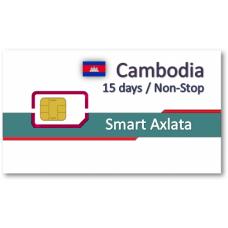柬埔寨上網卡15天吃到飽