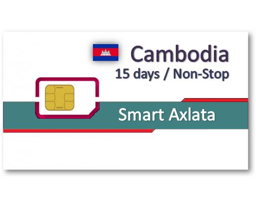 柬埔寨上網卡12天吃到飽