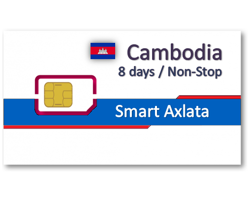 柬埔寨上網卡8天吃到飽
