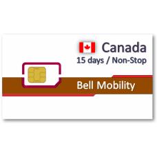 加拿大上網卡15天吃到飽 - 不可分享