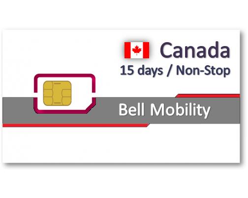 加拿大上網卡15天吃到飽 - 可分享