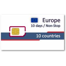 歐洲10國上網卡10天吃到飽-精省小資