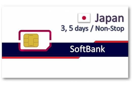 日本上網卡3天5天吃到飽 - 精省小資