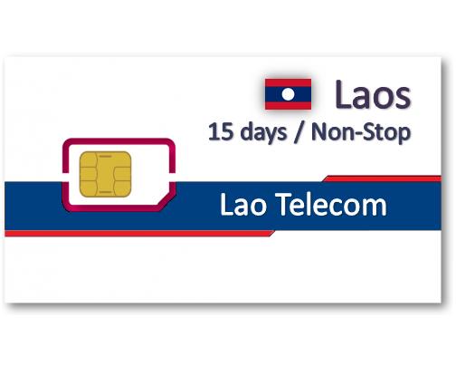 寮國(老撾) 上網卡15天吃到飽