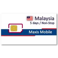 馬來西亞上網卡5天吃到飽