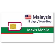 馬來西亞上網卡8天吃到飽