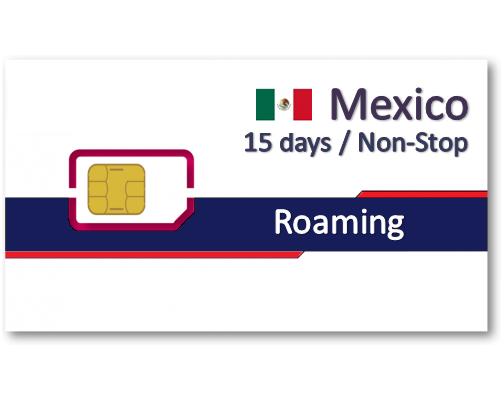 墨西哥上網卡15天吃到飽 - 3GB降速
