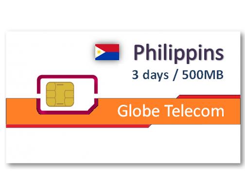 菲律賓上網卡3天500MB