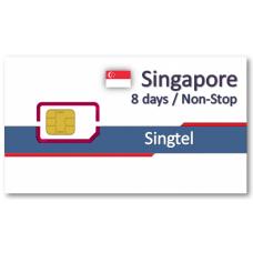 新加坡上網卡8天吃到飽