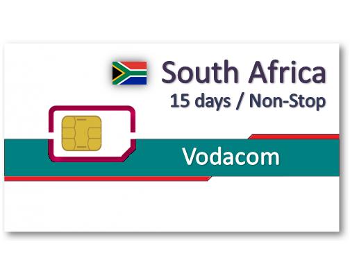 南非上網卡15天吃到飽