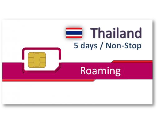 泰國上網卡5天吃到飽 - 不降速