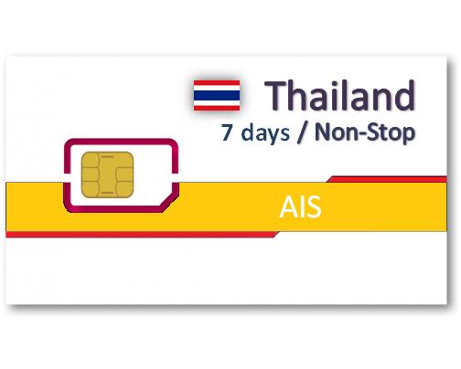 泰國上網卡7天吃到飽(AIS)
