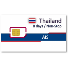 泰國上網卡8天吃到飽(AIS)