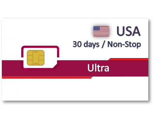 美國上網卡30天吃到飽+免費通話