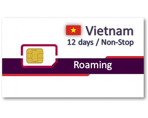 越南上網卡12天吃到飽