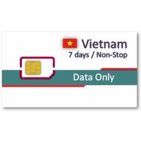 越南上網卡7天吃到飽-無話費