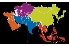 中亞、西亞、南亞