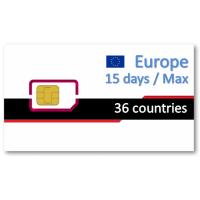 歐洲36國上網卡15天吃到飽